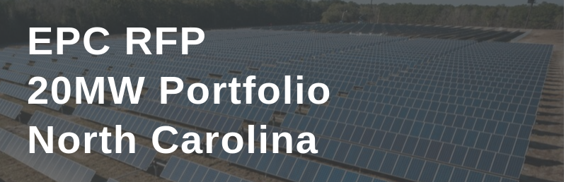 EPC RFP – 20MW in North Carolina